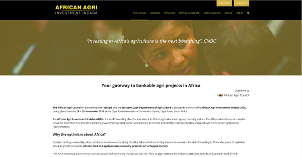 African Agri Investment Indaba