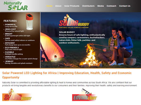 Naturally Solar - Solar Lanterns and products